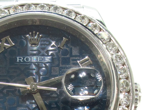 Rolex Datejust Steel 116200 Diamond Rolex Watch Collection