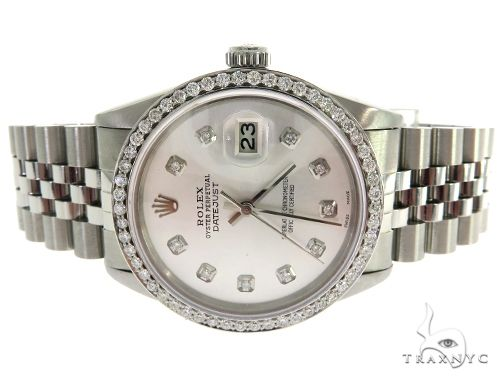 Rolex Datejust Steel 116200 2.00 Diamond Rolex Watch Collection