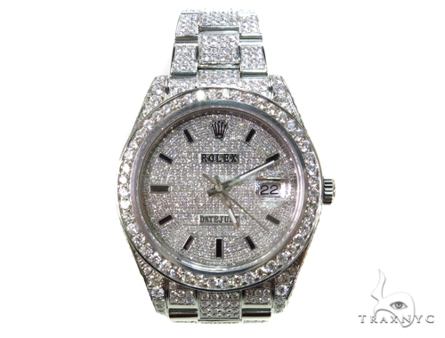 Rolex Datejust Steel 116334 Diamond Rolex Watch Collection