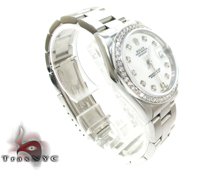 Rolex Datejust Steel 178384 MDJ Diamond Rolex Watch Collection