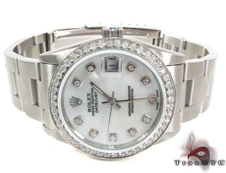 Rolex Datejust Steel 178384 MDJ Diamond Rolex Watch Collection