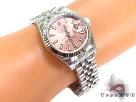 Rolex Datejust White Gold and Steel 179174 Rolex Collection