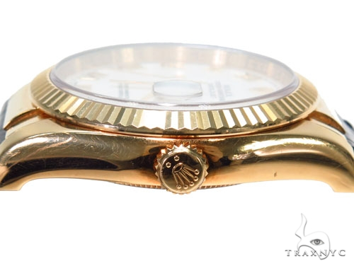 Rolex Datejust Yellow Gold 116138 40970 Diamond Rolex Watch Collection