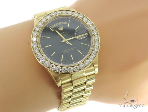 Rolex Day-Date I President Yellow Gold 218238 45570 Diamond Rolex Watch Collection