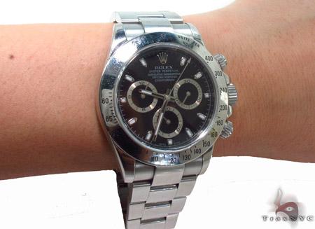 Rolex Classic Daytona Steel Watch 116520 Diamond Rolex Watch Collection