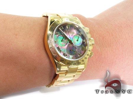 Rolex Daytona Yellow Gold 116528 Diamond Rolex Watch Collection