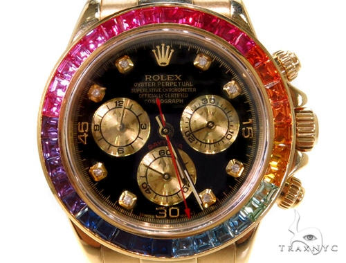 Rolex Daytona Yellow Gold 116528 Diamond Rolex Watch Collection