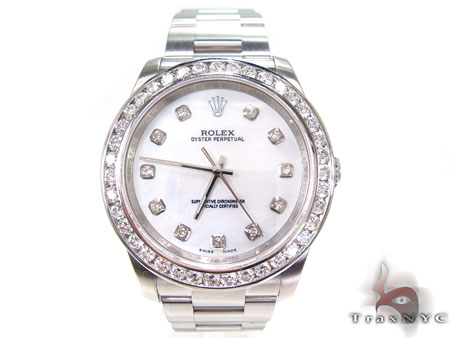 Rolex Oyster Perpetual Steel 116000 Diamond Rolex Watch Collection