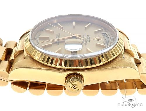 36mm 18K Yellow Gold Presidential Rolex Watch 65474 Diamond Rolex Watch Collection