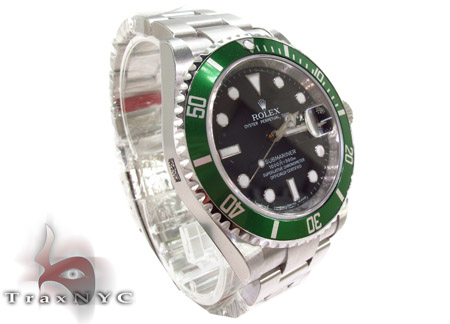 Rolex Submariner Steel 16610 Diamond Rolex Watch Collection