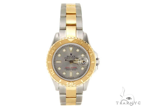 Rolex Yachtmaster Steel and Yellow Gold 169623 Diamond Rolex Watch Collection