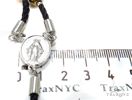 Rope Stainless Steel Cross Crucifix Rosary 40041 Stainless Steel