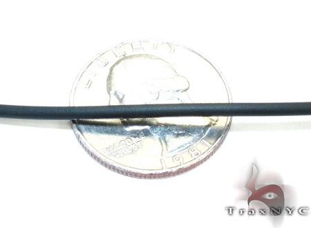 Baraka Rose Gold & Stainless Steel Check Pendant Metal