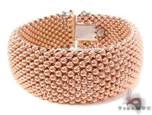 Rose Silver Bracelet 34498 Silver & Stainless Steel