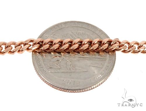 Rose Gold Micro Pave Diamond Dog Tag Set Metal