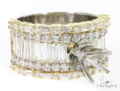 Rose Semi Mount Ring 45301 Engagement