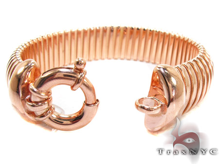Rose Silver Bracelet Silver & Stainless Steel