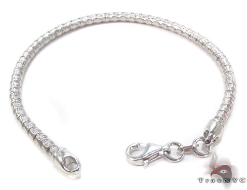 Silver Bracelet 34464 Silver & Stainless Steel