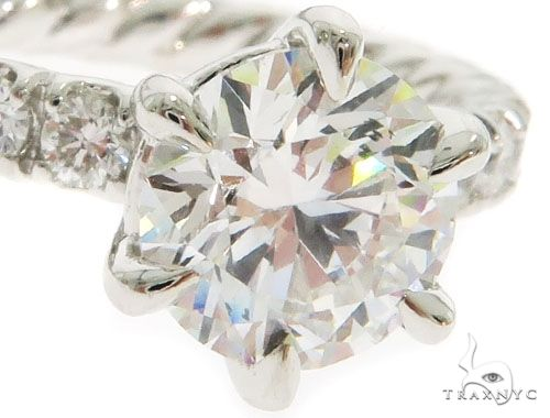 Round Cut Engagement Ring 61467 Engagement