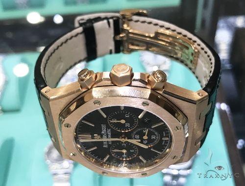 Royal Oak 41mm Audemars Piguet Watch Leather Strap 63893 Audemars Piguet Watches