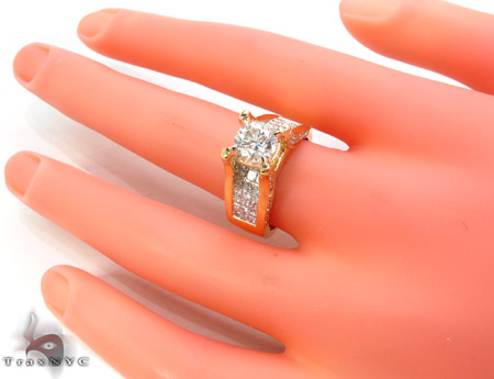 Royal Yellow Semi-Mount Engagement Ring Engagement