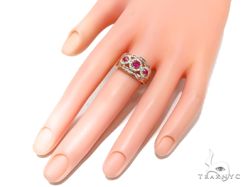 Ruby Diamond Anniversary/Fashion Ring 41824 Anniversary/Fashion