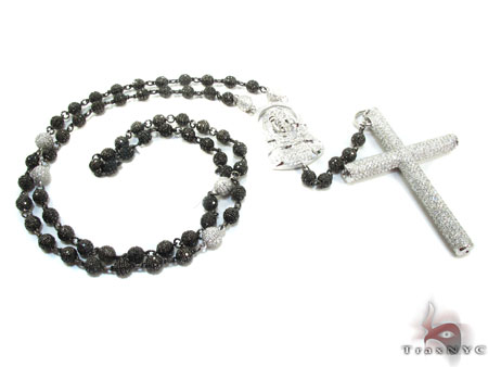 Saint Mary Diamond Rosary Chain Rosary