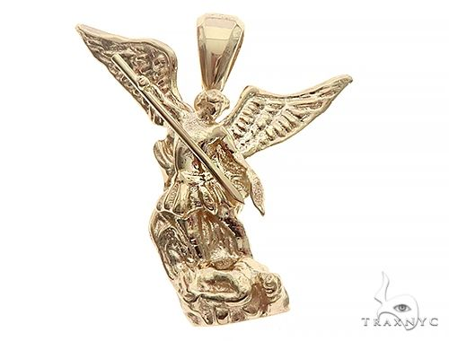 Saint Michael Pendant 65709 Metal