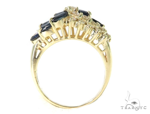 Sapphire Diamond Anniversary/Fashion Ring 49632 Anniversary/Fashion