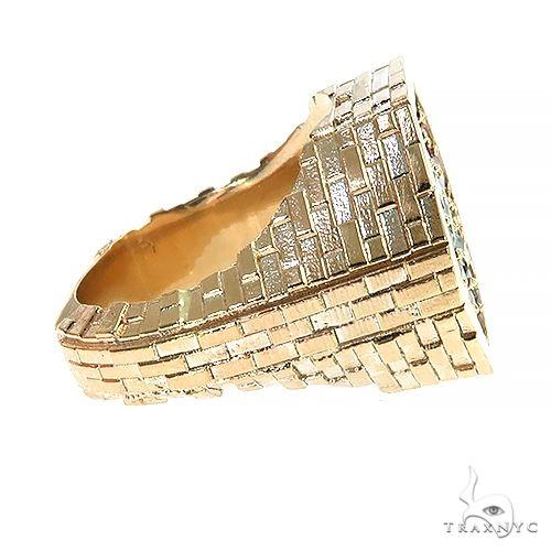 Sapphire Diamond Brick Hexagon Ring 66799 Men Specials