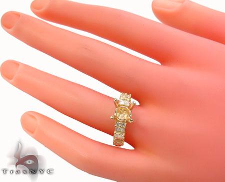 Semi Mount Summer Ring Engagement