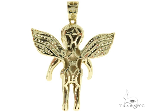 Silver Angel Pendant 57000 Metal