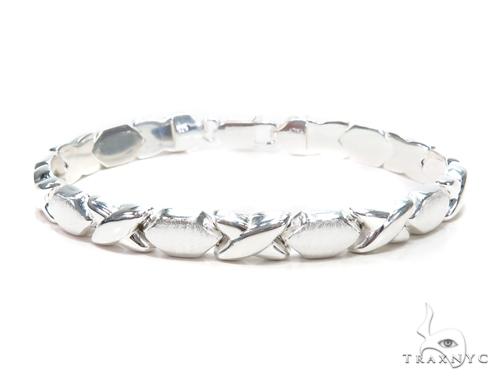 Silver Bracelet 43007 Silver & Stainless Steel