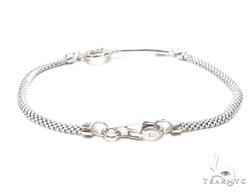 Silver Bracelet 43010 Silver & Stainless Steel