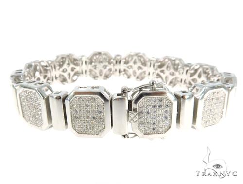 Silver CZ Bracelet 48932 Silver