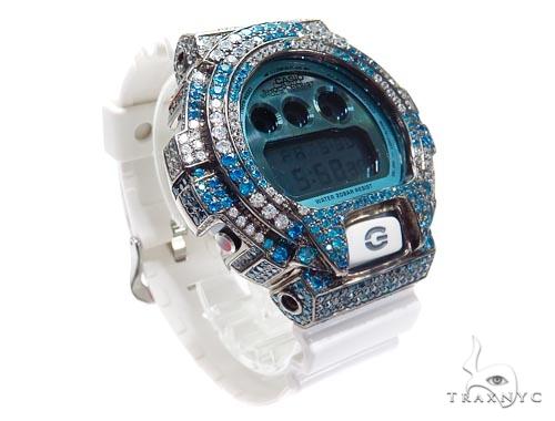 Silver Case Casio G-Shock Watch DW6900PL-7 43187 G-Shock
