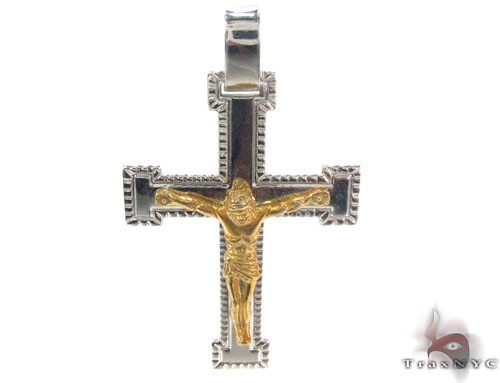 Silver Cross Crucifix 34679 Silver