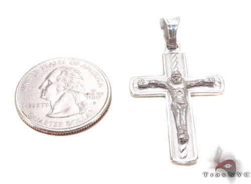 Silver Cross Crucifix 34682 Silver