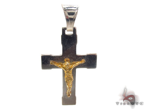 Silver Cross Crucifix 34683 Silver