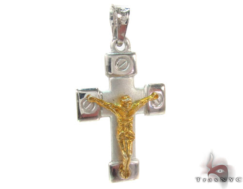 Silver Cross Crucifix 34684 Silver