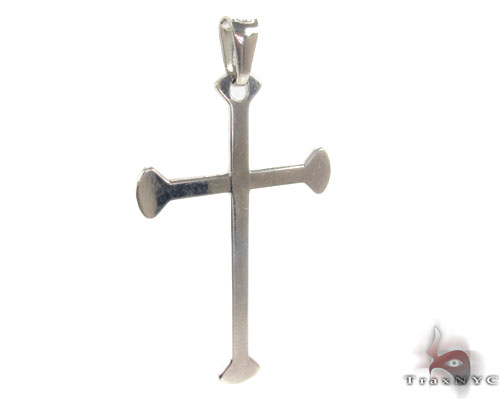 Silver Cross Crucifix 34687 Silver