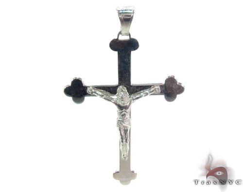 Silver Cross Crucifix 34686 Silver