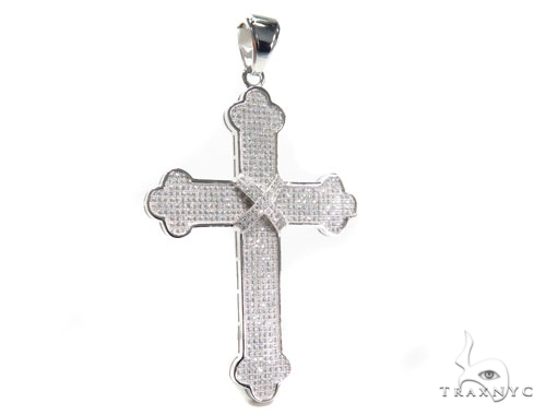 Silver Cross Crucifix 41069 Silver