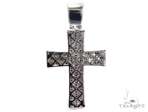 Silver Cross Crucifix 41096 Silver
