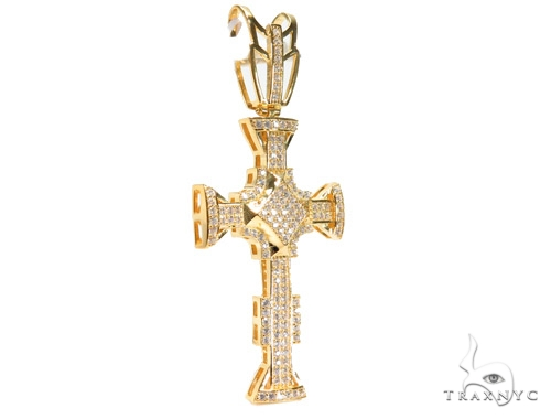 Silver Cross Crucifix 41138 Silver