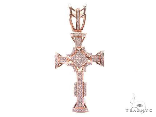 Silver Cross Crucifix 41139 Silver