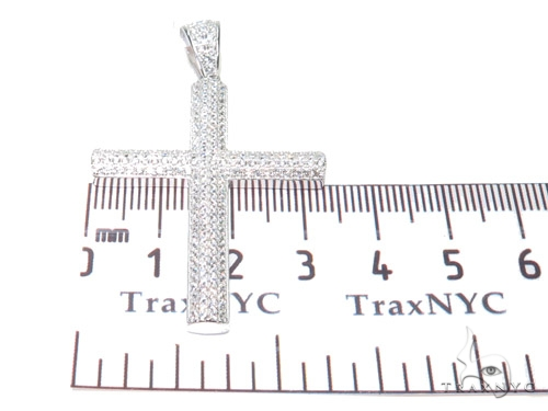 Silver Cross Crucifix 41140 Silver
