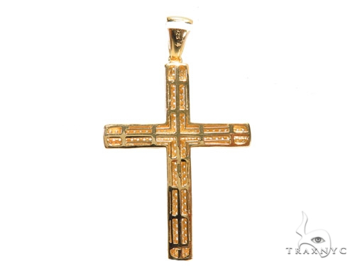 Silver Cross Crucifix 41141 Silver