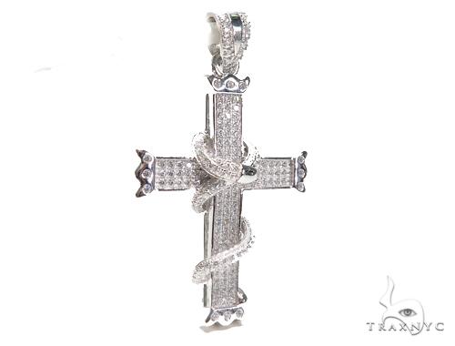 Silver Cross Crucifix 41265 Silver