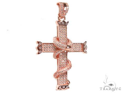 Silver Cross Crucifix 41267 Silver